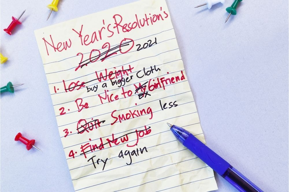 Forget New Year's Resolutions: Commit to something that will stick
